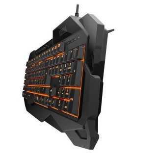 Πληκτρολόγιο Παιχνιδιού KROM NXKROMKROWN Μαύρο