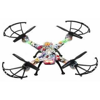 Drone Denver Electronics DCH-460 0,3 MP 2.4 GHz 650 mAh Πολύχρωμο