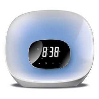 Ρολόι-Ραδιόφωνο Daewoo DCR-470 LED Λευκό