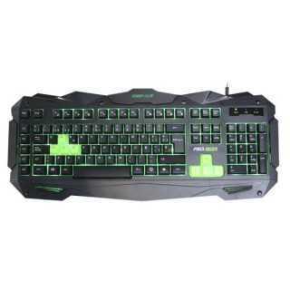 Πληκτρολόγιο Παιχνιδιού KEEP OUT F80 Μαύρο/πράσινο