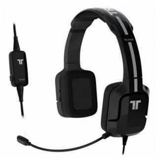 Ακουστικά με Μικρόφωνο για Gaming Kunai Tritton ST24 Μαύρο/λευκό