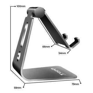 Βάση για Κινητά ή Tablet TooQ PH0001-G11 Γκρι