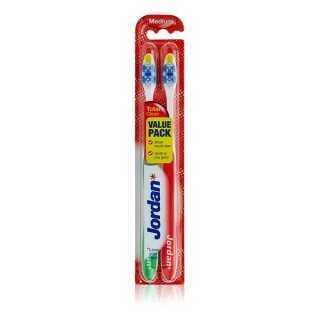 Οδοντόβουρτσα Total Clean Medium Jordan (2 uds)