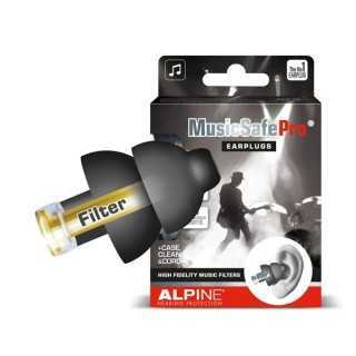 ALPINE MusicSafe Pro® ωτοασπίδες για μουσικούς, Μαύρες 111.24.102