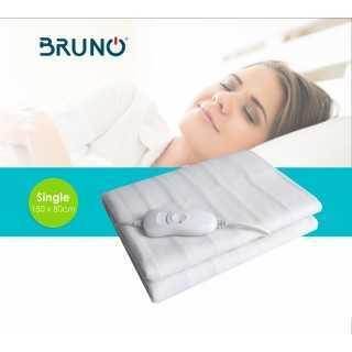 BRUNO Ηλεκτρική κουβέρτα BRN-0016, μονή, 150x80cm, 60W, με χειριστήριο
