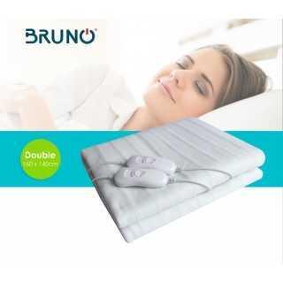 BRUNO Ηλεκτρική κουβέρτα BRN-0017, διπλή, 160x140cm, 2x 60W, χειριστήρια