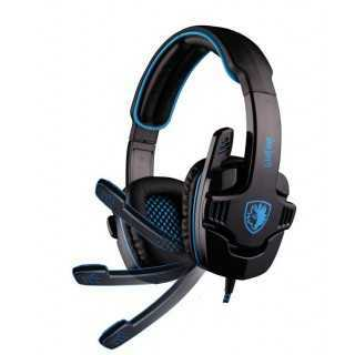SADES Gaming Headset USB Wolfang, 7.1CH με 40mm ακουστικά