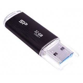 SILICON POWER USB Flash Drive Blaze B02, 32GB, USB 3.1, Black