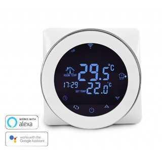 Έξυπνος Θερμοστάτης Καλοριφέρ HY04G WiFi, internet control, ξηράς επαφής