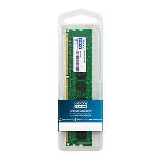 GOODRAM Μνήμη DDR3 UDimm, 4GB, 1600MHz, PC3-12800, CL11