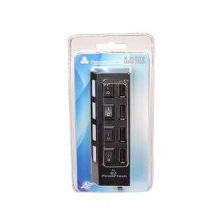 POWERTECH USB 2.0V HUB 4 Port με διακόπτη ON/OFF