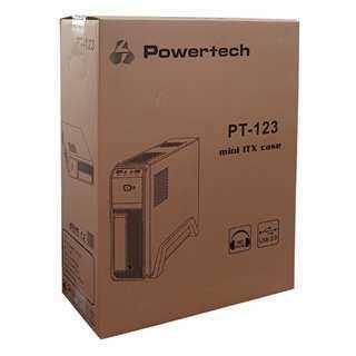 POWERTECH MINI ATX κουτί για PC, 2x USB 3.0V, με τροφοδοτικό 300W