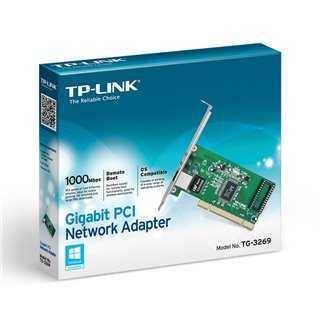 TP-LINK Gigabit PCI Network Adapter TG-3269, Version 3.3