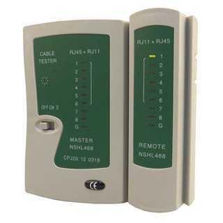 PT multi network tester  RJ11,RJ12,RJ45 (καλώδιο δικτύου και τηλέφωνου)