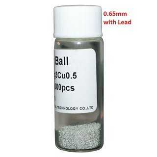 Solder Balls 0.65mm, with Lead, 25k