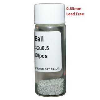 Solder Balls 0.35mm, Lead Free, 25k