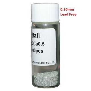Solder Balls 0.30mm, Lead Free, 25k