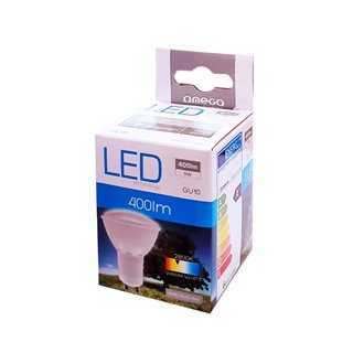 OMEGA LED Λάμπα Spotlight 6W, Warm White 2800K, GU10