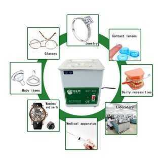 BEST Ultrasonic Cleaner BST-300, Stainless Steel, 50W
