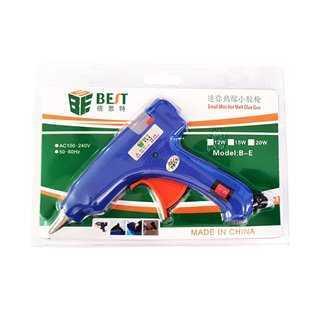 BEST Θερμικό Πιστόλι σιλικόνης BST-B-E, 20W, Μπλε