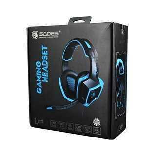 SADES Gaming Ηeadset Luna, USB, 7.1CH, με 40mm ακουστικά