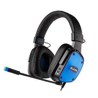 SADES Gaming Headset Dpower, 3.5mm, 40mm ακουστικά, Blue