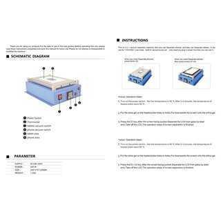 BEST 2 σε 1 Vacuum Seperator B-968, Temp control, 29.5 x 19