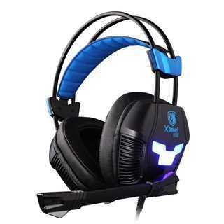 SADES Gaming Headset Xpower Plus, Vibration, USB, 40mm ακουστικά