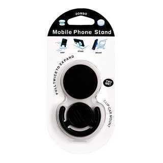 Pop mobile stand & holder με βάση αυτοκινήτου, Black