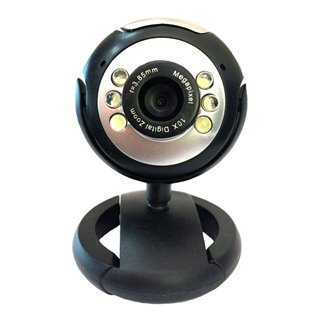 POWERTECH Web Camera PT-509 1.3MP, Plug & Play, μαύρη