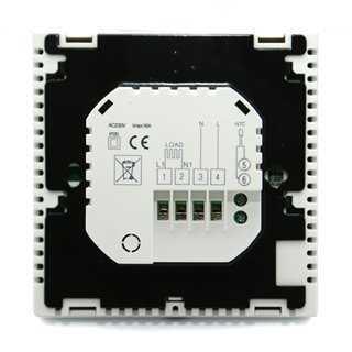 Έξυπνος Θερμοστάτης Καλοριφέρ Smart WiFi, Internet Control, Touch Screen