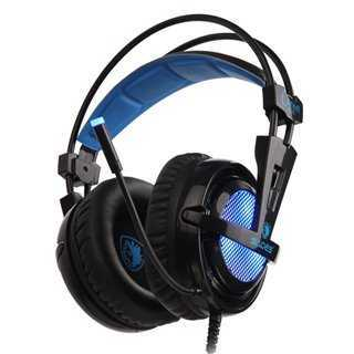 SADES Gaming Headset Locust Plus, USB, 7.1CH με 40mm ακουστικά
