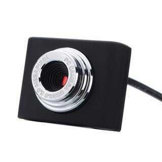 POWERTECH Web Camera PT-507 0.3MP, Video, με κλιπ, Black