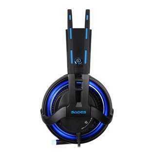 SADES Gaming Headset Diablo, USB, Realtek Audio, RGB LED