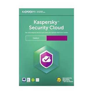 KASPERSKY Security Cloud, 20 συσκευές, 20 χρήστες, 1 έτος, English