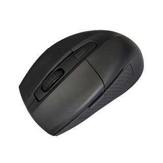 POWERTECH Ασύρματο ποντίκι PT-598, Οπτικό, 1600DPI, 6 πλήκτρα, μαύρο