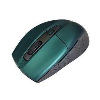 POWERTECH Ασύρματο ποντίκι PT-599, Οπτικό, 1600DPI, 6 πλήκτρα, πράσινο