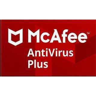 MCAFEE AntiVirus Plus 1U/1Y, EU, Licence Key ESD, κάρτα ξυστό