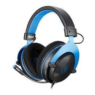 SADES Gaming Headset Mpower, Multiplatform, 3.5mm, 50mm ακουστικά, μπλε