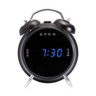 EPOK Ξυπνητήρι RR90EPOKN, FM Radio, LED, μαύρο