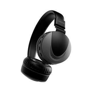 CELEBRAT Headphones με μικρόφωνο Α9, Bluetooth, 40mm, μαύρα