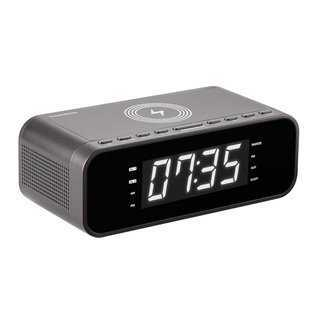 THOMSON Ξυπνητήρι CR255I, FM, ασύρματη φόρτιση, dual alarm, μαύρο