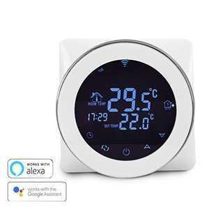 Έξυπνος Θερμοστάτης Καλοριφέρ HY04, WiFi, internet Control, touch screen