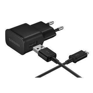 SAMSUNG Φορτιστής τοίχου EP-TA12EBE USB(A) σε Micro USB, 2A, μαύρος