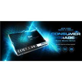 "SILICON POWER SSD A55 256GB, 2.5"", SATA III, 550-450MB/s 7mm, TLC"