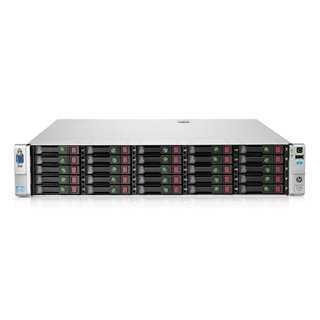 HP server DL380E GEN8 2x E5-2430L, 16GB, 2x 750W, P420/1GB, SFF, REF SQ