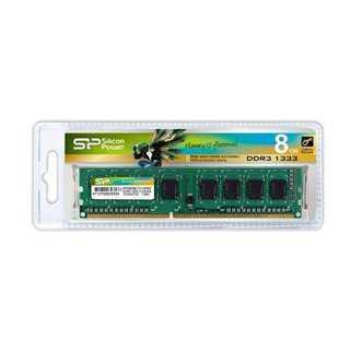 SILICON POWER Μνήμη DDR3 UDimm, 8GB, 1333MHz, PC3-10600, CL9