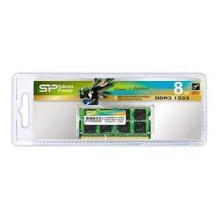 SILICON POWER Μνήμη RAM DDR3 SODimm, 8GB, 1333MHz, CL9