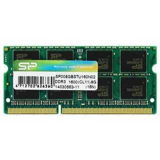 SILICON POWER Μνήμη RAM DDR3 SODimm, 8GB, 1600MHz, CL11