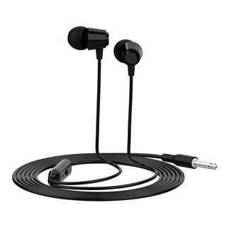 CELEBRAT Earphones G4 με μικρόφωνο, 10mm, 1.2m, μαύρο